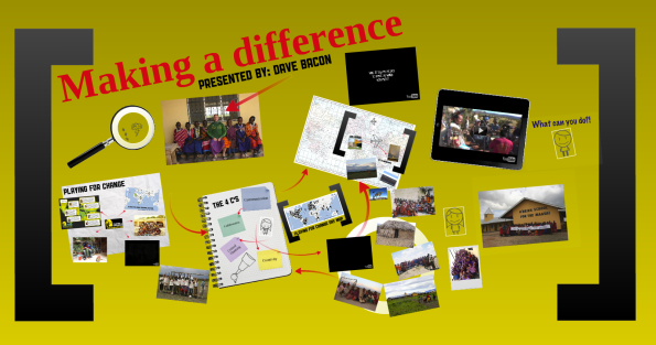Making a Difference presentation screen shot